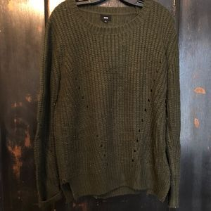 Fate cable knit sweater